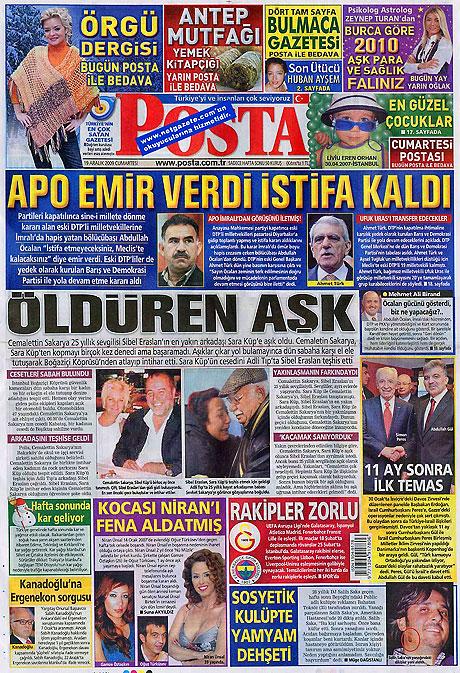 Türk basınında bugün (19 Aralık) galerisi resim 22