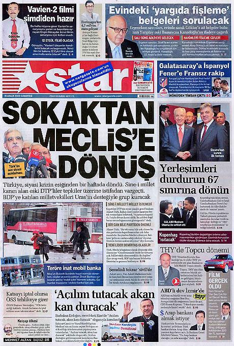 Türk basınında bugün (19 Aralık) galerisi resim 3