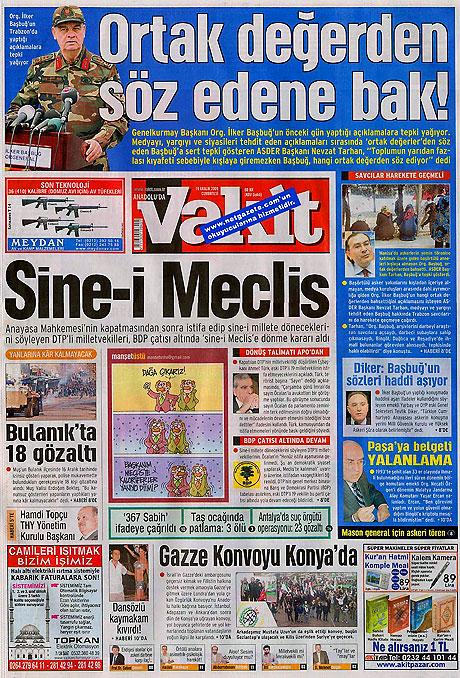 Türk basınında bugün (19 Aralık) galerisi resim 8