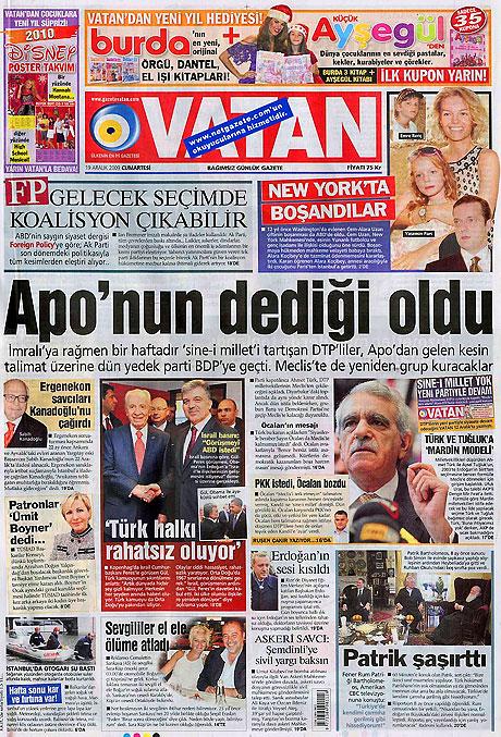 Türk basınında bugün (19 Aralık) galerisi resim 9