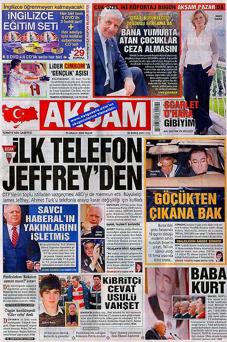 Günün Gazete Manşetleri (20 Aralık) galerisi resim 1