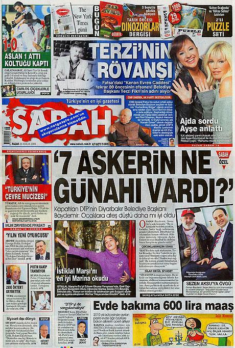 Günün Gazete Manşetleri (20 Aralık) galerisi resim 15