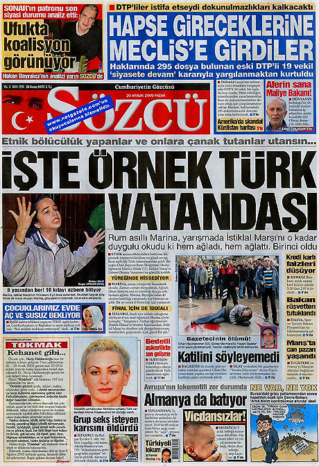 Günün Gazete Manşetleri (20 Aralık) galerisi resim 16