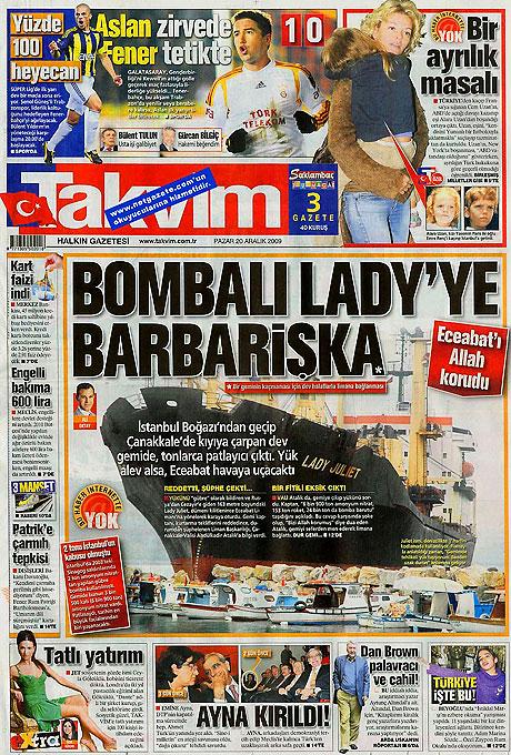 Günün Gazete Manşetleri (20 Aralık) galerisi resim 18