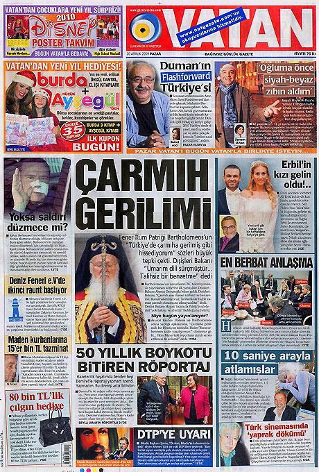 Günün Gazete Manşetleri (20 Aralık) galerisi resim 23