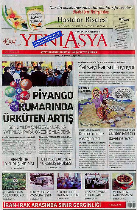 Günün Gazete Manşetleri (20 Aralık) galerisi resim 24