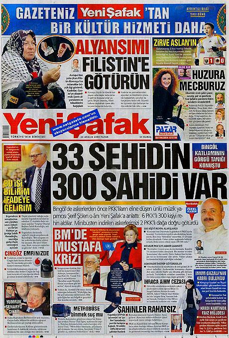 Günün Gazete Manşetleri (20 Aralık) galerisi resim 25