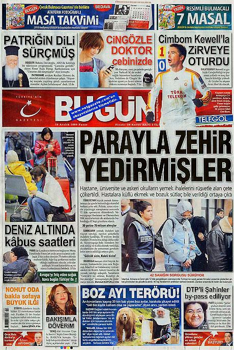 Günün Gazete Manşetleri (20 Aralık) galerisi resim 3