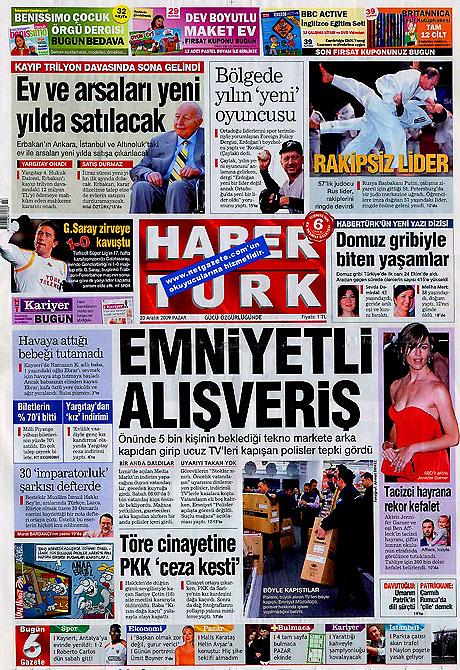 Günün Gazete Manşetleri (20 Aralık) galerisi resim 9