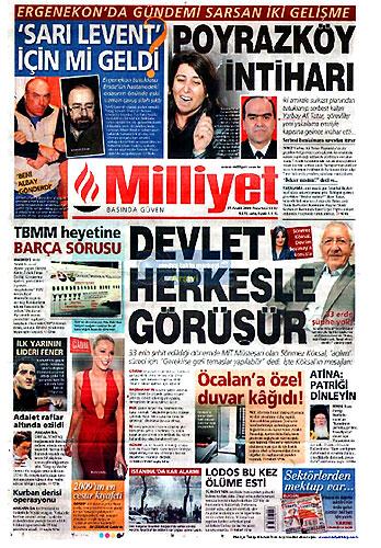 Günün Gazete Manşetleri (21 Aralık) galerisi resim 1