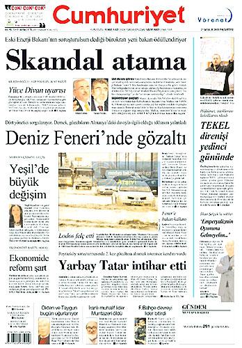 Günün Gazete Manşetleri (21 Aralık) galerisi resim 12