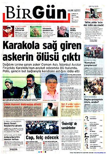 Günün Gazete Manşetleri (21 Aralık) galerisi resim 15