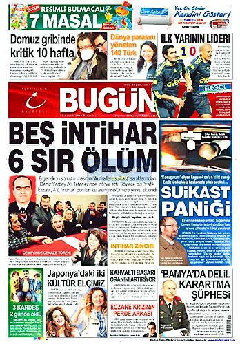 Günün Gazete Manşetleri (21 Aralık) galerisi resim 2