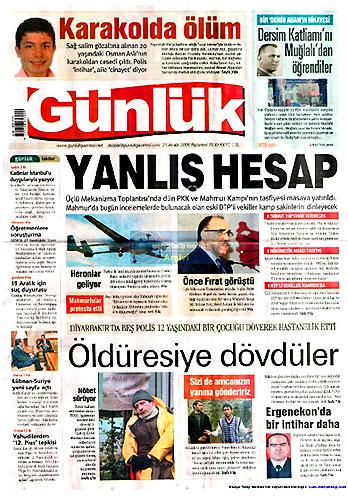 Günün Gazete Manşetleri (21 Aralık) galerisi resim 21