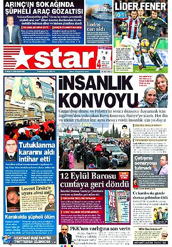 Günün Gazete Manşetleri (21 Aralık) galerisi resim 24