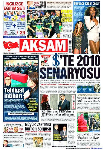 Günün Gazete Manşetleri (21 Aralık) galerisi resim 3