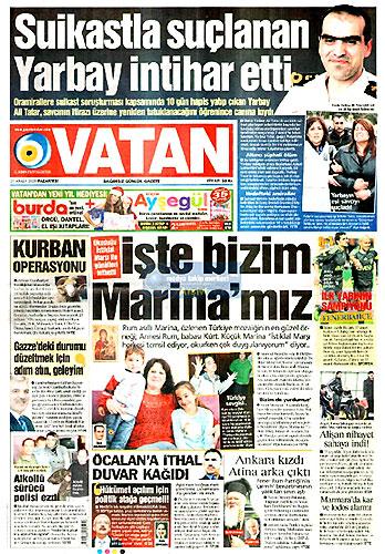 Günün Gazete Manşetleri (21 Aralık) galerisi resim 4