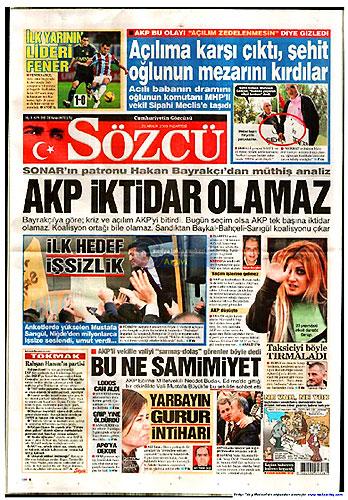 Günün Gazete Manşetleri (21 Aralık) galerisi resim 7