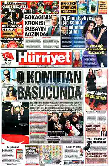 Günün Gazete Manşetleri (22 Aralık) galerisi resim 1