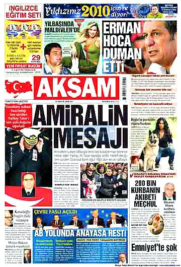 Günün Gazete Manşetleri (22 Aralık) galerisi resim 12