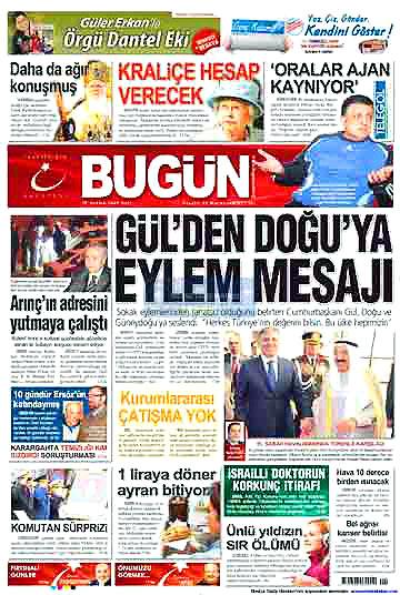 Günün Gazete Manşetleri (22 Aralık) galerisi resim 14