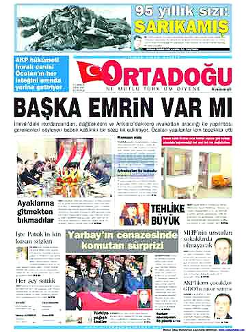 Günün Gazete Manşetleri (22 Aralık) galerisi resim 15