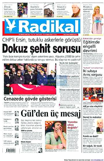 Günün Gazete Manşetleri (22 Aralık) galerisi resim 16
