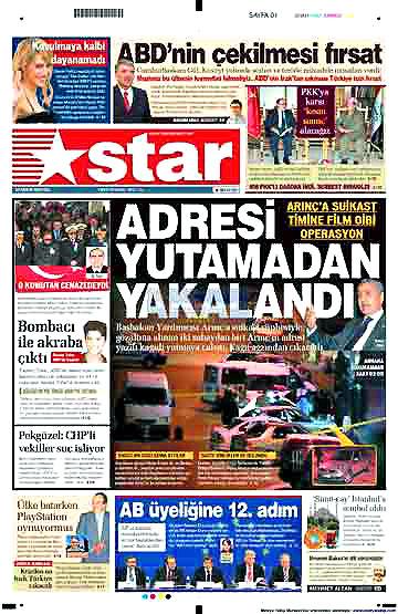 Günün Gazete Manşetleri (22 Aralık) galerisi resim 2