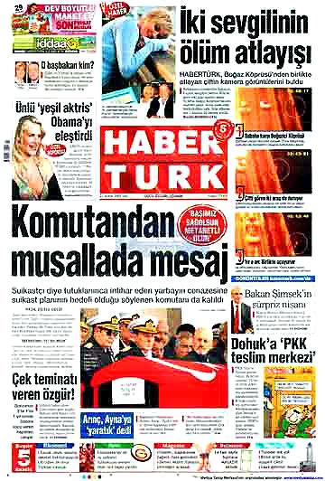 Günün Gazete Manşetleri (22 Aralık) galerisi resim 3