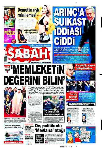 Günün Gazete Manşetleri (22 Aralık) galerisi resim 4