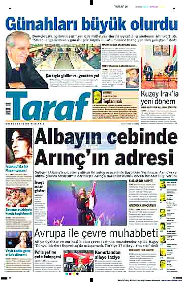 Günün Gazete Manşetleri (22 Aralık) galerisi resim 6