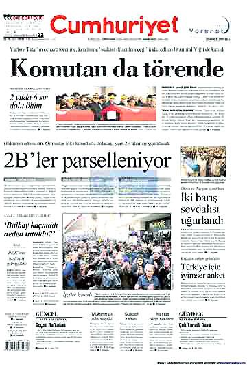 Günün Gazete Manşetleri (22 Aralık) galerisi resim 7