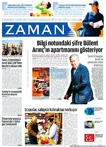 Günün Gazete Manşetleri (22 Aralık) galerisi resim 8