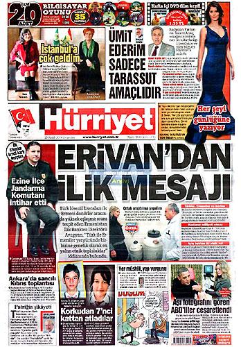 Günün Gazete Manşetleri (23 Aralık) galerisi resim 1