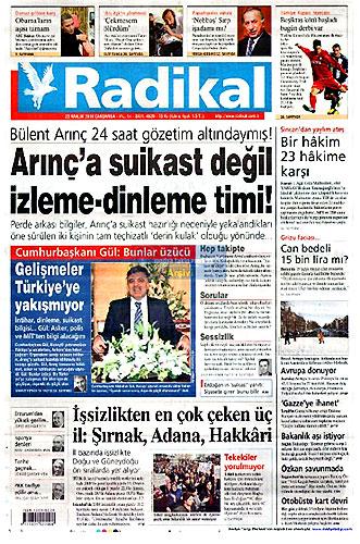Günün Gazete Manşetleri (23 Aralık) galerisi resim 13