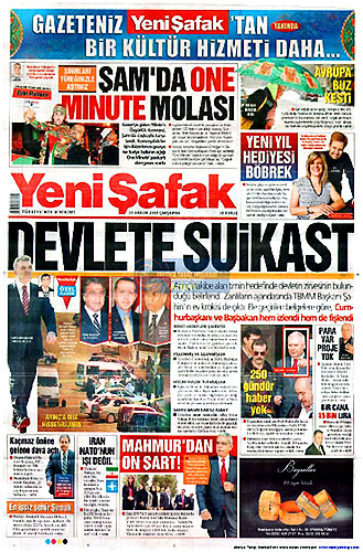 Günün Gazete Manşetleri (23 Aralık) galerisi resim 14