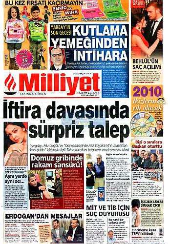 Günün Gazete Manşetleri (23 Aralık) galerisi resim 2