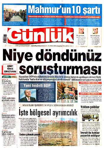 Günün Gazete Manşetleri (23 Aralık) galerisi resim 23
