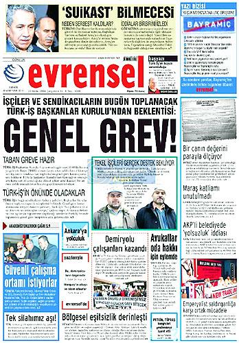 Günün Gazete Manşetleri (23 Aralık) galerisi resim 28