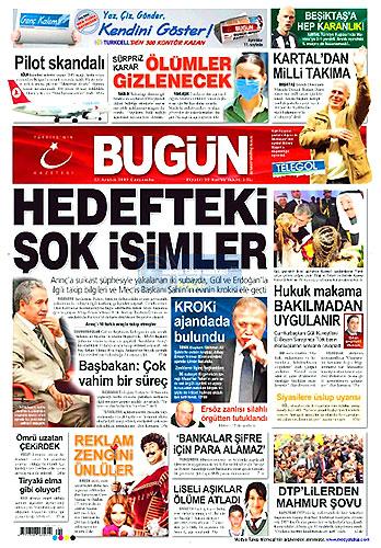 Günün Gazete Manşetleri (23 Aralık) galerisi resim 4