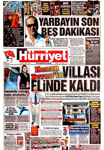 Gazete Manşetleri (25 Aralık) galerisi resim 1
