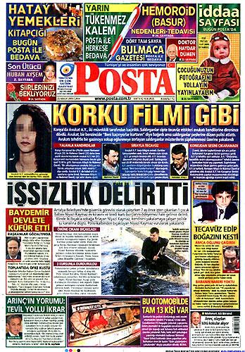 Gazete Manşetleri (25 Aralık) galerisi resim 10