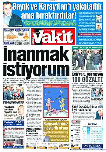 Gazete Manşetleri (25 Aralık) galerisi resim 11