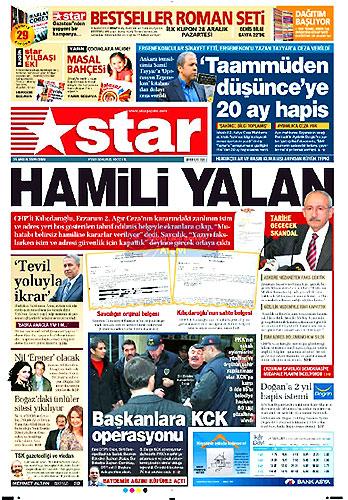 Gazete Manşetleri (25 Aralık) galerisi resim 12