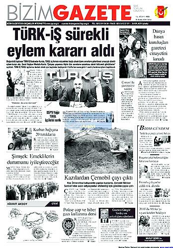 Gazete Manşetleri (25 Aralık) galerisi resim 18
