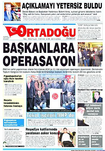 Gazete Manşetleri (25 Aralık) galerisi resim 20