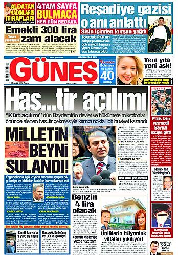 Gazete Manşetleri (25 Aralık) galerisi resim 24