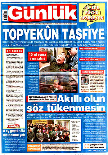 Gazete Manşetleri (25 Aralık) galerisi resim 26