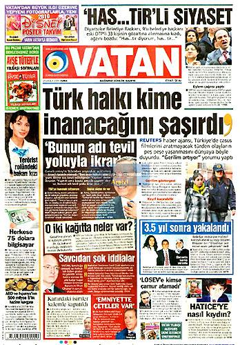 Gazete Manşetleri (25 Aralık) galerisi resim 4