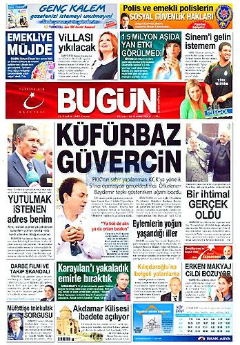 Gazete Manşetleri (25 Aralık) galerisi resim 5
